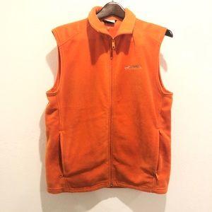 Columbia || Orange Fleece Jacket